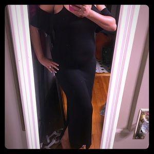 NWT black maxi dress